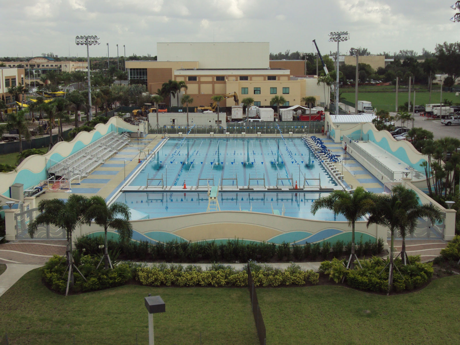 Competition Pool Construction : Project gallery c davis electric